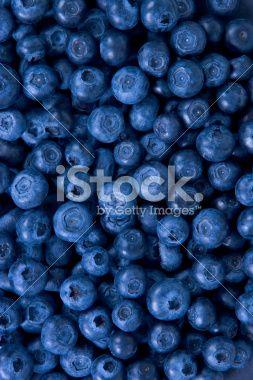 Blueberries Фотография роялти-фри