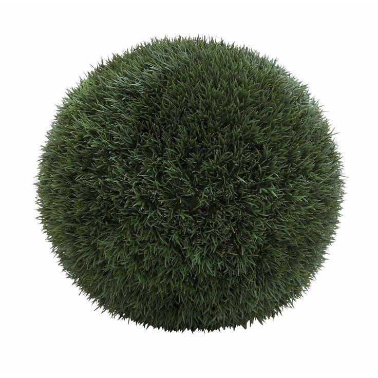 Studio 350 Green Iron Wire and Plastic Grass Ball (Green)