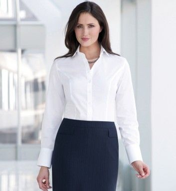 Work Uniform Corporate Blouses Two
