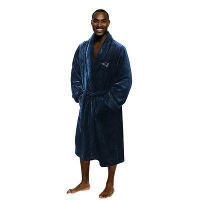 Northwest Co. NFL Patriots Men's Bathrobe Size: Large/Extra Large