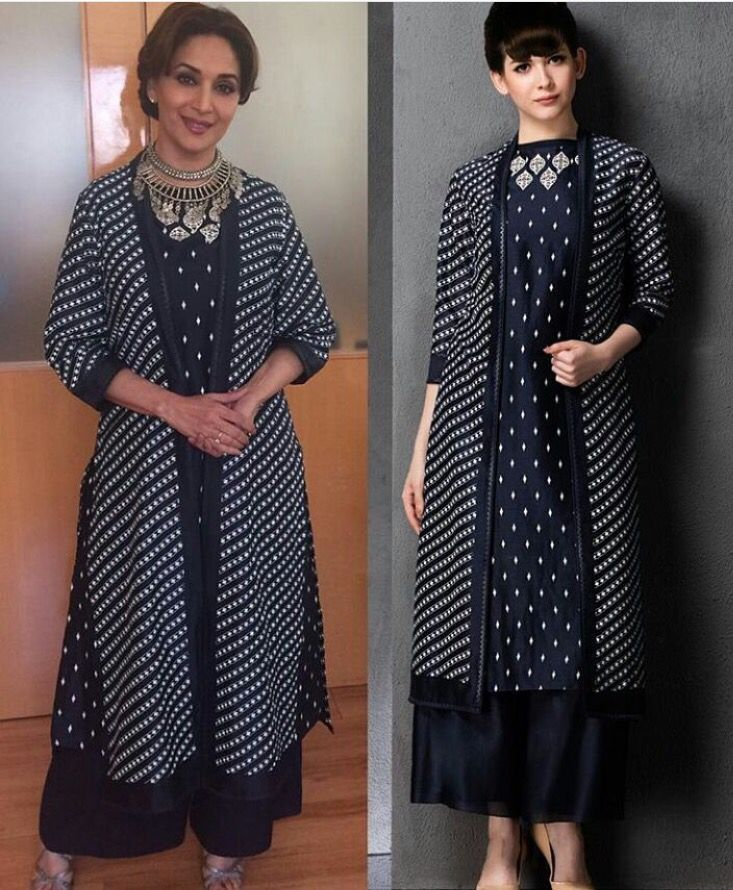 Madhuri Dixit # am:pm# Pallazo love # casual day out # brunch style # fusion wear