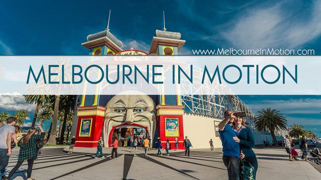 Melbourne in timelapse