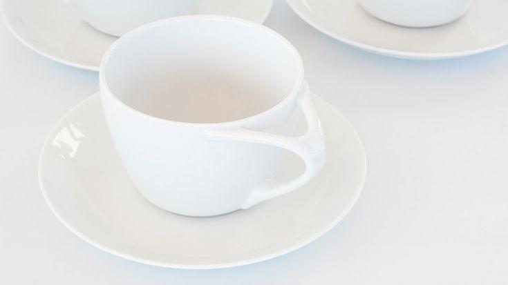 Good Morning Teacup & Saucer Kibardin