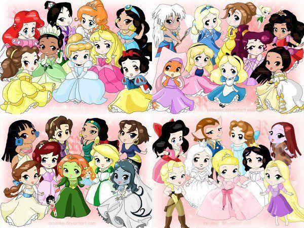 Image des femmes de dessins animés.