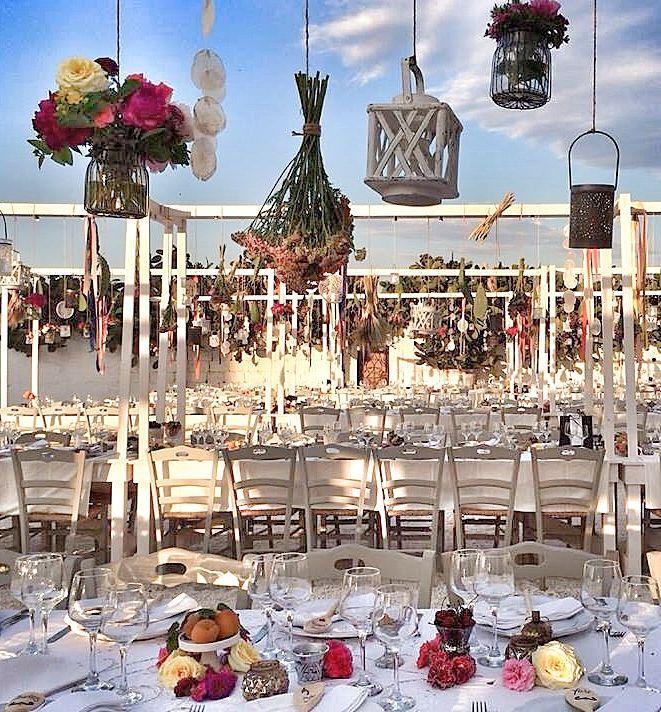 Wedding Design: Chic Wedding in Italy Floral Decor: La Rosa Canina FIRENZE Venue: Masseria Potenti APULIA