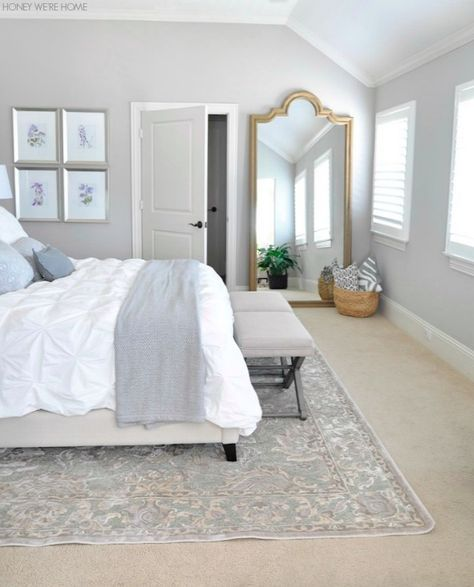 Bloggers 39 inspired rooms part two huge mirror natural for Bedroom mirror inspiration