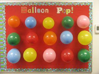 Birthday classroom idea