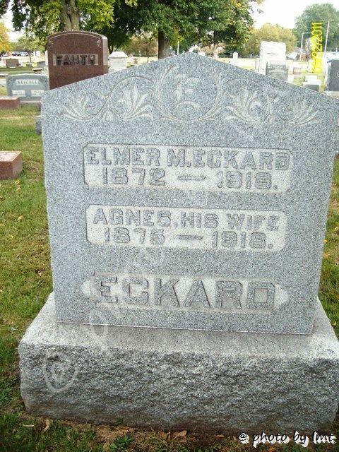 Agnes Lillian Sears Eckard (1875-1918) - Find A Grave Memorial