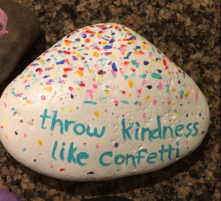 Kindness Painted rock