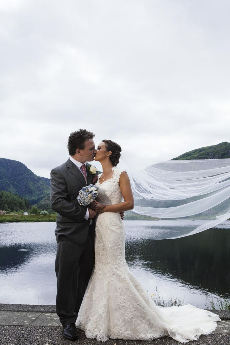 Wedding photo Gougane Barra. -  John Beasley Photography