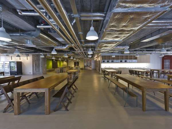 Themed Wing Offices - The Haifa Google Office is Inspired By its Surroundings (GALLERY)