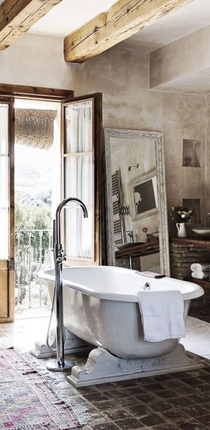 Ideas Sanitarios Baño:Rustic Shabby Chic Bathroom