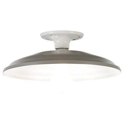 Canarm Retrofit Ceiling Barn Light - 12in. Dia, 120 Volt, Model# BL12RT
