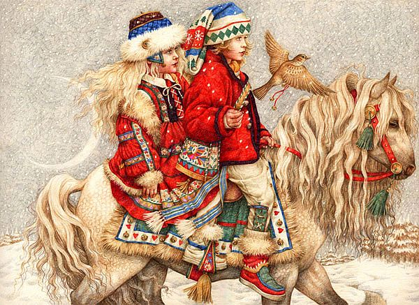 Christmas Illustrations by Anne Yvonne Gilbert