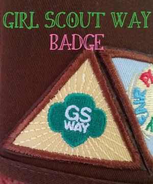 For our very first Brownie meeting we thought it would be a perfect to work  on the Girl Scout Way badge! We had a couple new girls join our troop and  this was a perfect way to introduce and re-introduce Girl Scouting!  Step 1 SING EVERYWHERE  This year we moved our meetings in home due to schedules and rental fees.  The benefit of this is that I can use my smart TV to show the girls more  videos since it draws their attention better than me standing in front of  them reading. YouTube was…