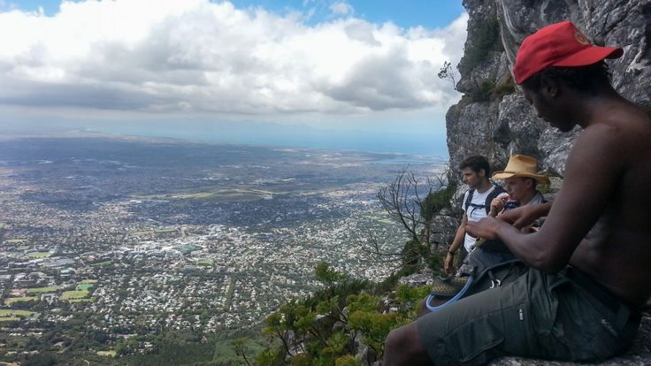 Hiking Table Mountain's 3 peaks in one day
