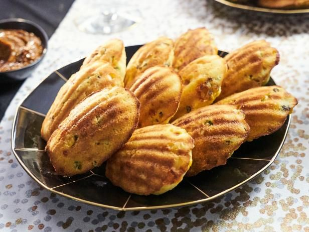 Best 114 tia mowry at home cooking channel images on pinterest cornbread madeleines with ancho chile butter forumfinder Image collections