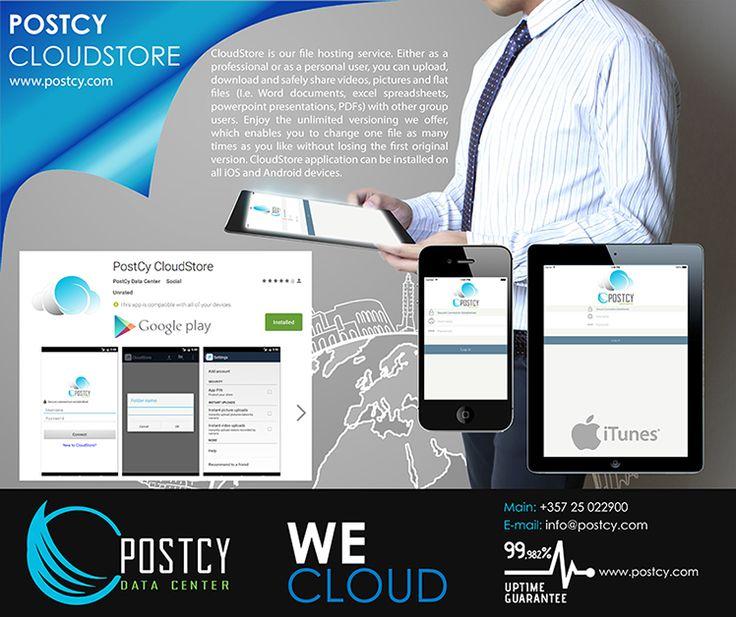 PostCy CloudStore Application