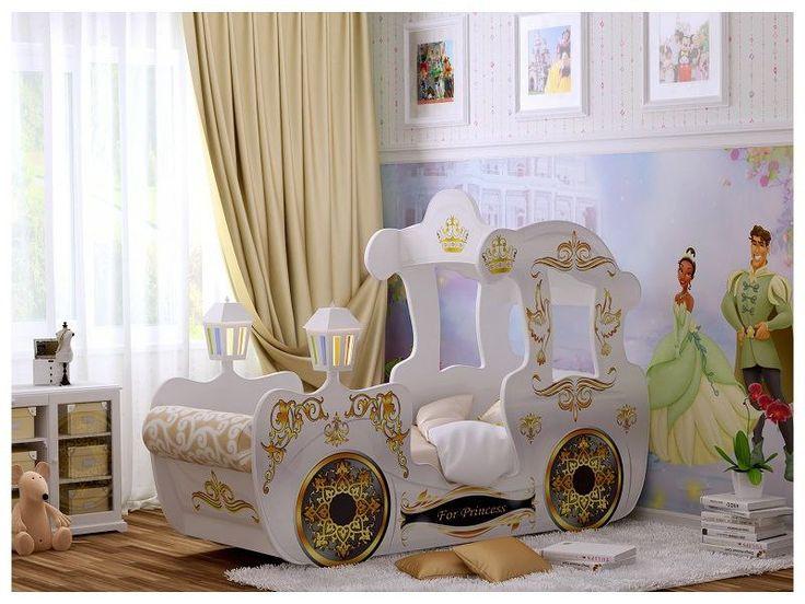 Кроватка для настоящих принцесс!  #Кроваткадлянастоящихпринцесс #кровать #дизайн #интерьер #стиль #строители #строительство #строительныйпортал #stroitelinetua
