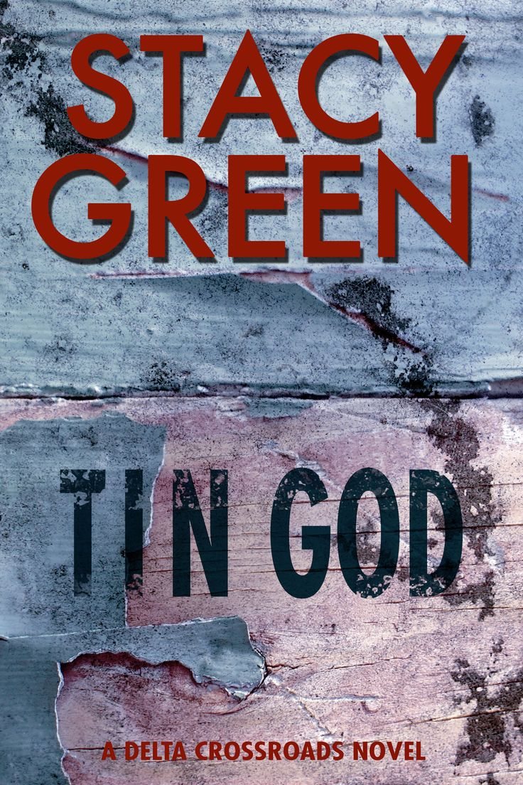 The New And Improved Cover For TIN GOD A Finalist Best 2013 Mystery