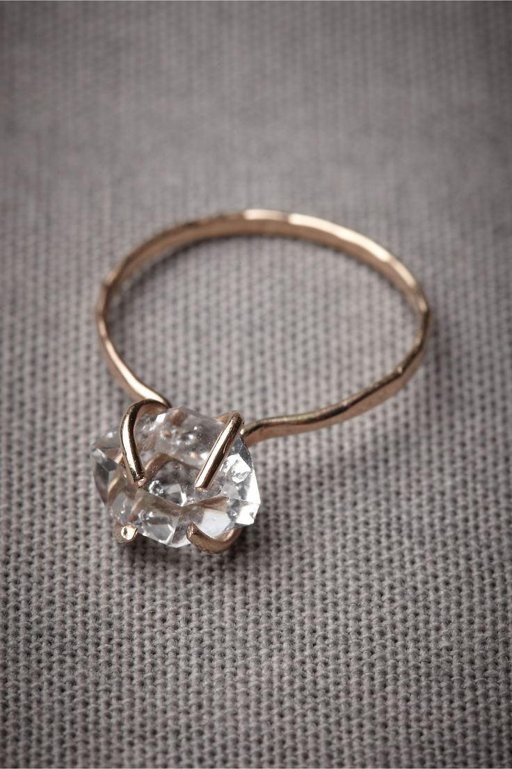 Incandescence Ring: this Melissa Joy Manning ring w/Herkimer diamond is gorgeous!: Melissa Joy, Joy Man, Incandescent Rings, Diamonds Rings, Jewelry, Wedding Rings, Man Rings, Dreams Rings, Engagement Rings