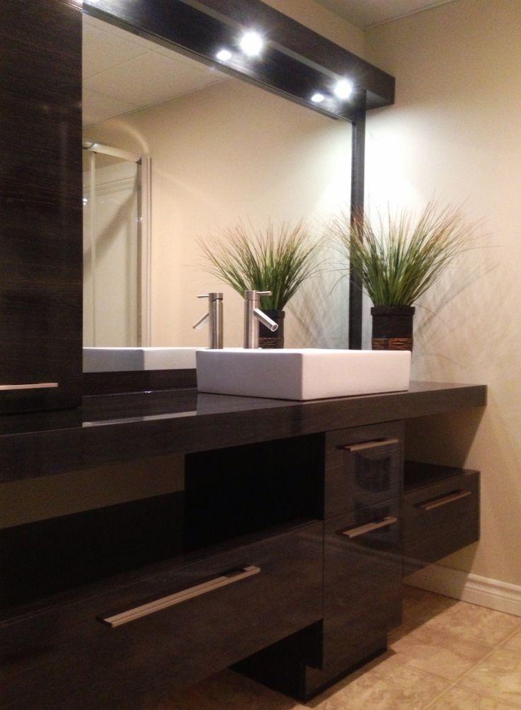 19 best Salle de bain images on Pinterest Basements, Custom made - decoration salle de bain moderne