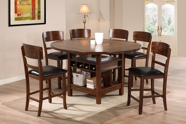 round dining room sets for 8 home design pinterest