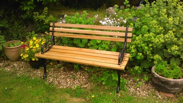 Old LNER Sutton On Sea station bench I restored for my mother in law.