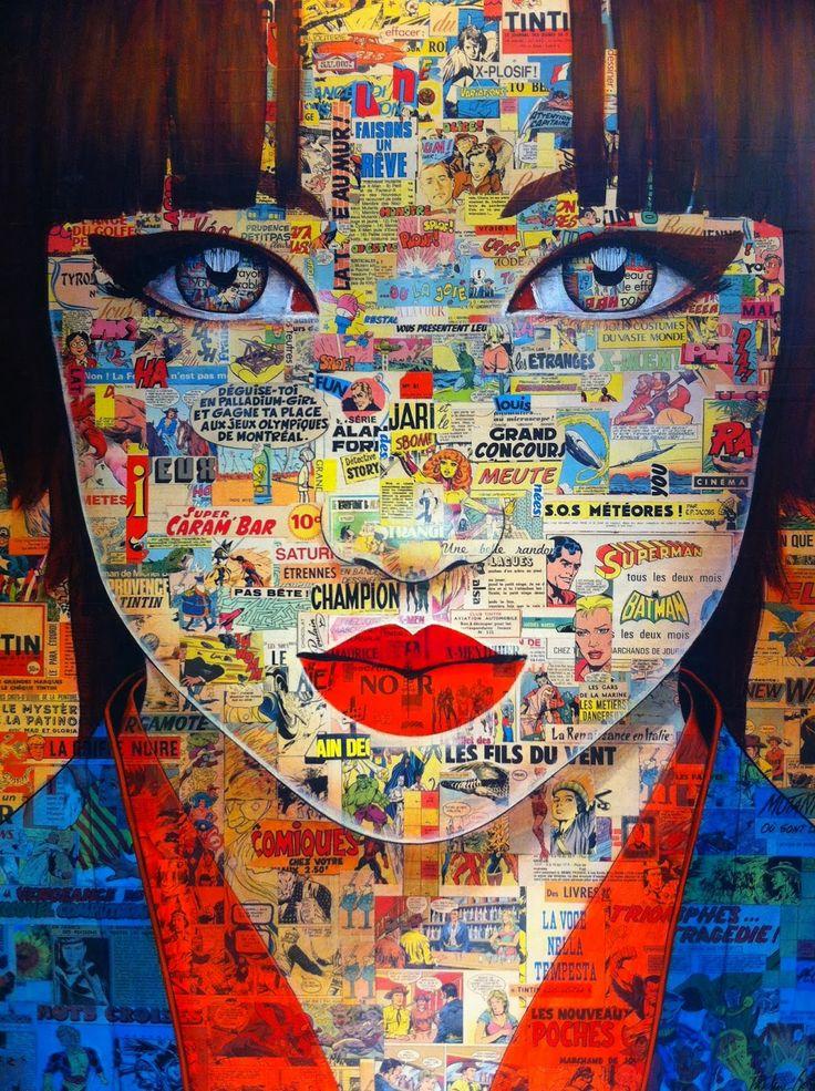 Pauline Gagnon, 1955 ~ yeux énigmatiques | Tutt'Art @ | Pittura * * Scultura Poesia * Musica |