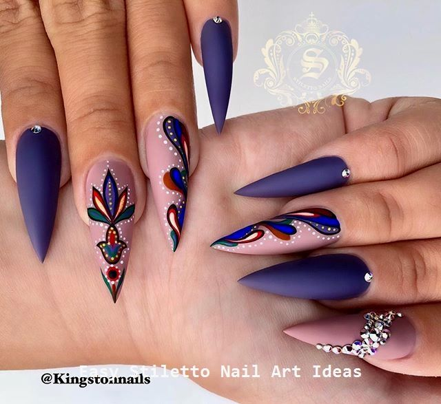 30 große Stiletto Nail Art Design-Ideen #nailart – Nailart