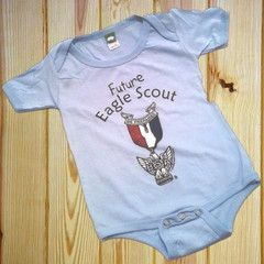 Future Eagle Scout Onesie at Crossroads of America Scout Shop!