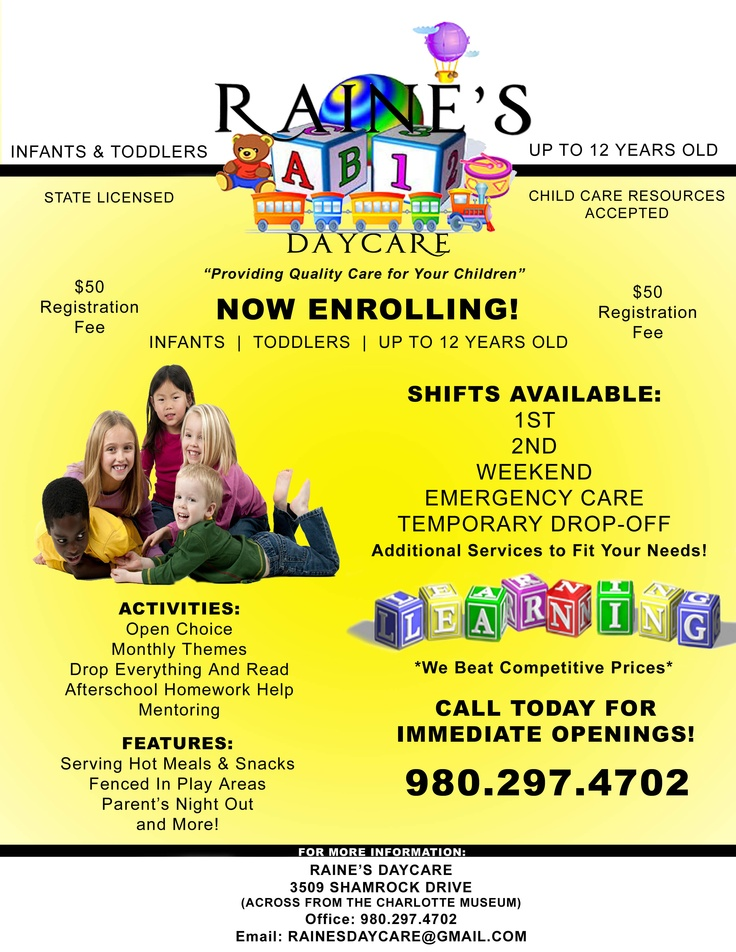 the advantages of having a day care center at the worksite Employee benefit programs program program description career mobility office:  information about state worksite child care centers that give enrollment priority.