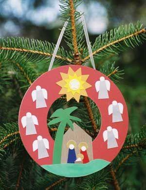 Nativity Art From Tom Hunt Design