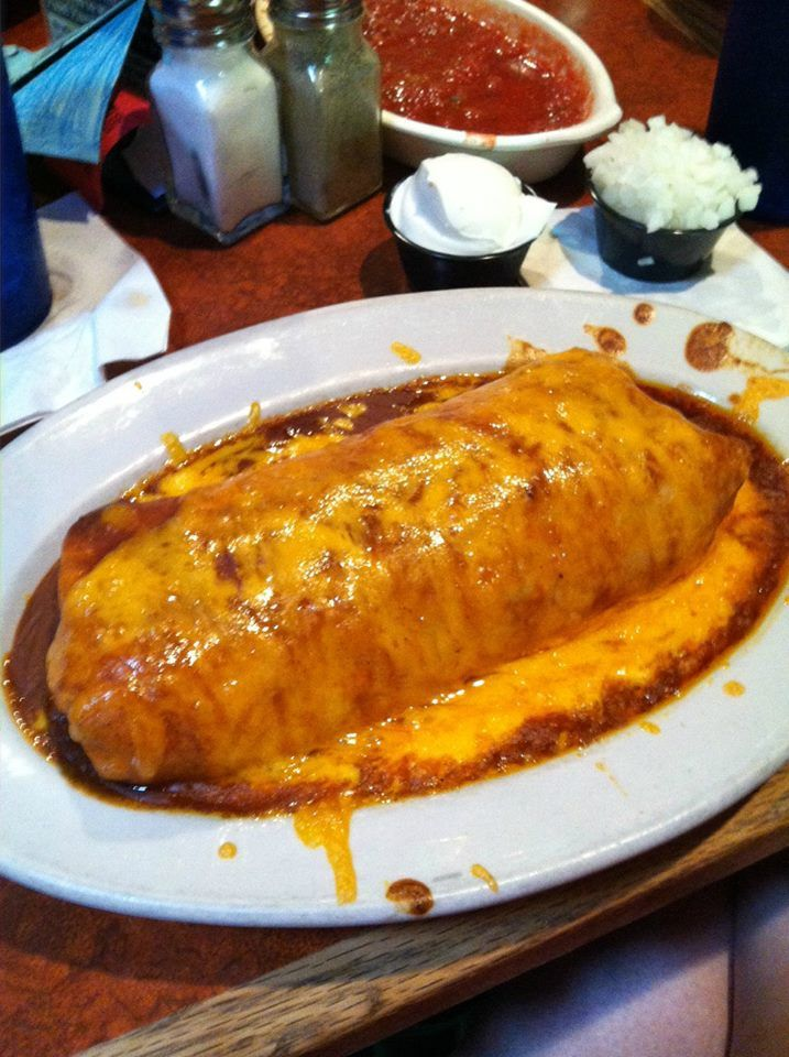 Where I grew up in Michigan, it was always a treat to go to one of the local Mexican restaurants and order a wet burrito.  What is a wet burrito? It is a burrito, filled with ground beef, refried beans, [...]