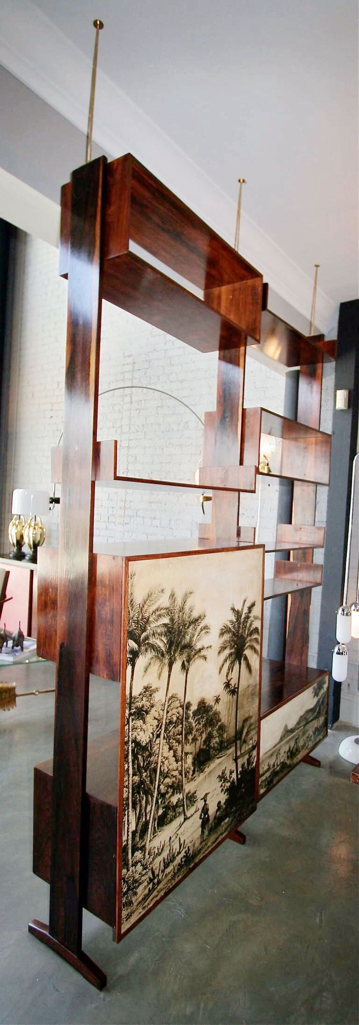 Mid Century Room Divider >> Pin by Rania Fahmy on Room dividers in 2019 | Mid century ...