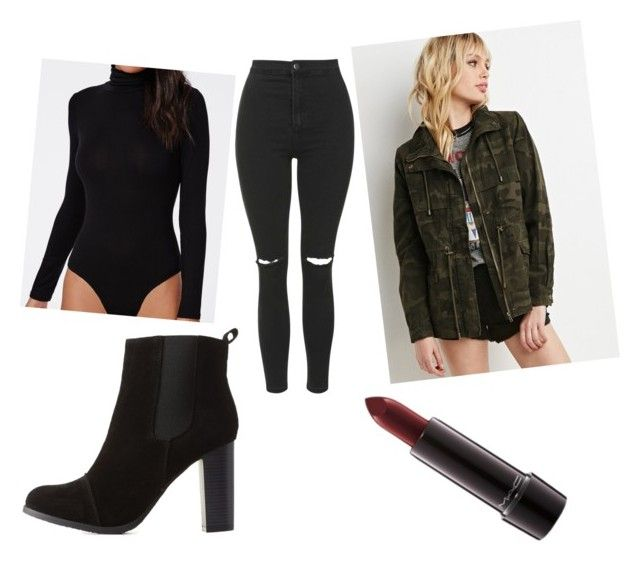 """The Weeknd: The Madness Fall Tour Outfit"" by lynda-ohhh on Polyvore featuring Missguided, Forever 21, Topshop, Charlotte Russe and MAC Cosmetics"