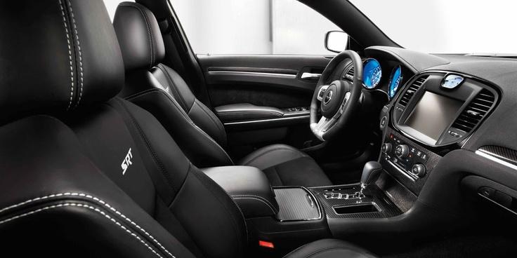 Interior of Chrysler 300 SRT8