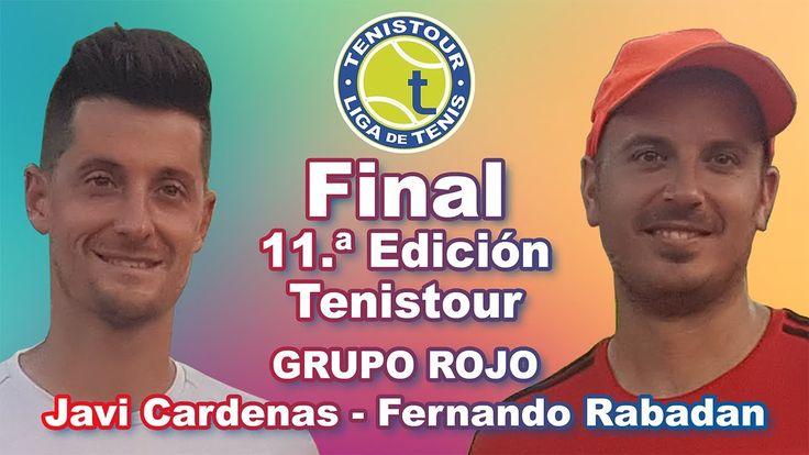TENISTOUR 10.ª Edicion - Grupo ROJO - Javi Cardenas vs Fernando Rabadan