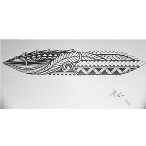 For a friend! Maori tattoo #fixaroinstante #ink #tattoo #tatuagem #tattoos #draw #desenho #maori #tribal