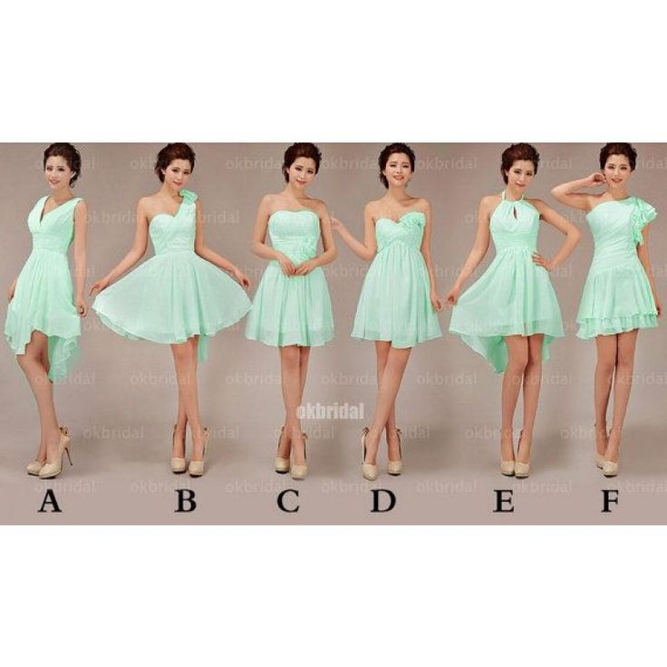 mint bridesmaid dress, short bridesmaid dress, mismatched bridesmaid dress, cheap bridesmaid dress, custom bridesmaid dress, simple bridesmaid dress