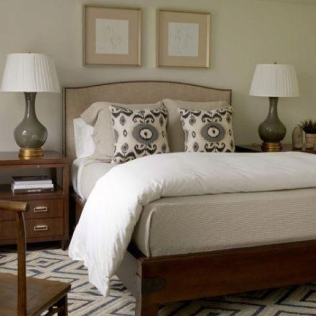 25 Stunning Transitional Bedroom Design Ideas: Beautiful Master Bedroom