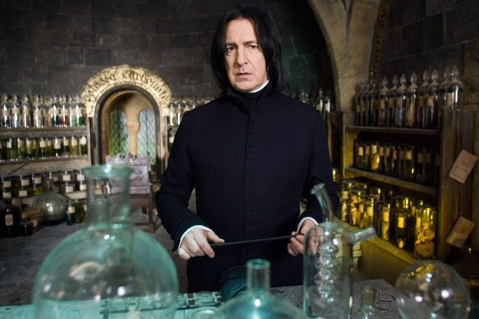"Professor Snape in Harry Potter, as the Potions Master can teach students how to ""bottle fame, brew glory, even put a stopper in death."" #magician #archetype #brandpersonality"