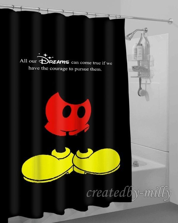 New Mickey Mouse Hot Arrival Design High Quality Shower Curtain 60 x 72 Inch #Unbranded #Modern #New #Hot #Best #Custom #Design #Home #Decor #Bestseller #Movie #Sport #Music #Band #Disney #Katespade #Lilypulitzer #Coach #Adidas # Beauty #Harry #Bestselling #Kid #Art #Color #Brand #Branded #Trending #2017