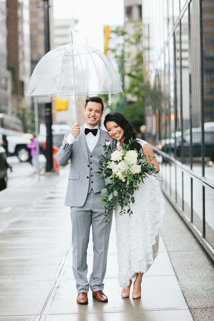 Downtown Vancouver Hotel Wedding