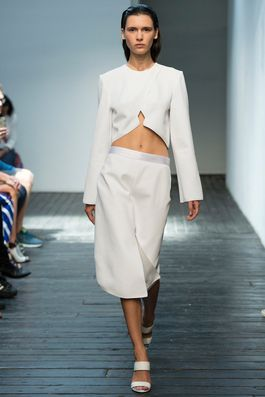 Dion Lee Spring 2015 Ready-to-Wear Fashion Show: Complete Collection - Style.com a bit revealed