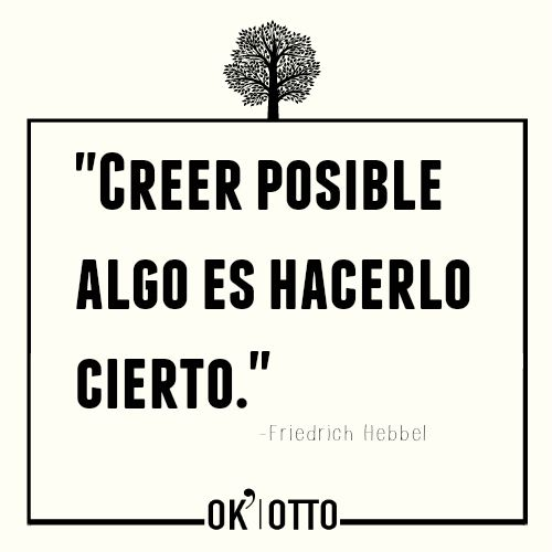 Creer Que Puede Ser Posible...  www.ok-otto.com  #marketingonline   #barcelona   #inboundmarketing   #SEO   #SEM #socialmedia
