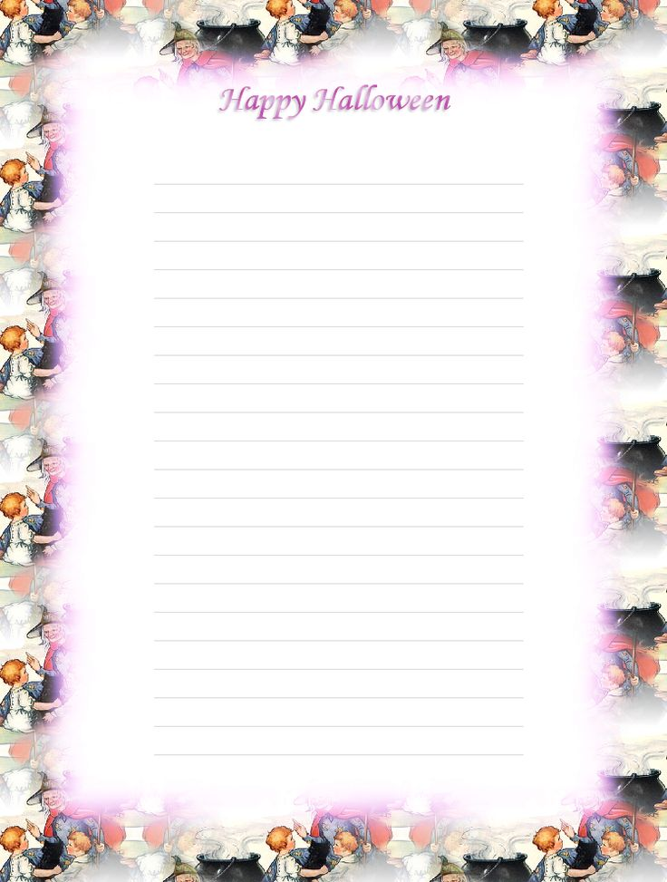 It's just a picture of Nifty Halloween Stationery Printable