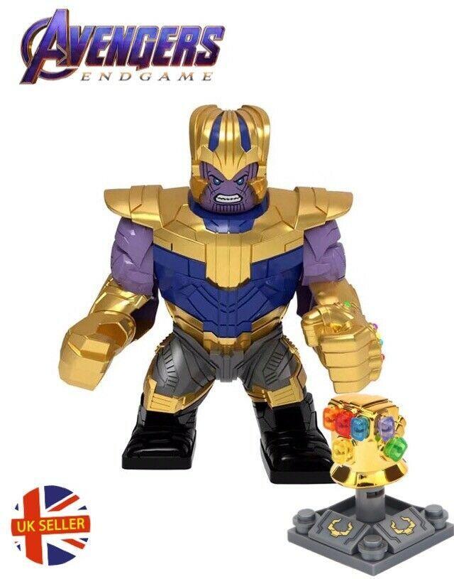 New LEGO Minifigure Marvel Villain Thanos From Avengers Infinity War Endgame