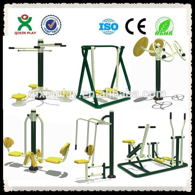 Source China Guangzhou Outdoor Gym Cheap Adults Outdoor Fitness Equipment Used Park Steel Outdoor Fitness Equipment for Sale (QX-092G) on m.alibaba.com
