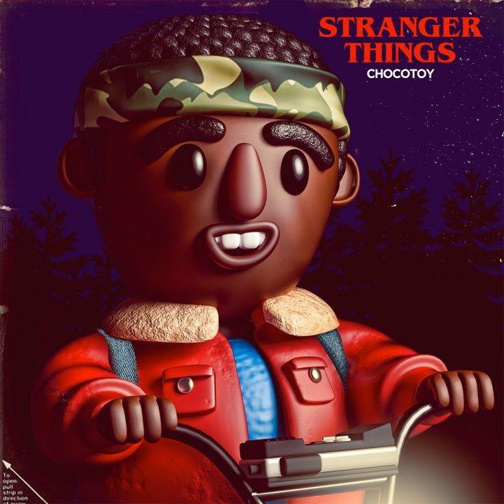 Stranger Toys: Digital Illlustrations by Luis Albornoz – Inspiration Grid | Design Inspiration